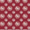 "Coupons TILDA ""Thula Carmine Red"" 50 x 55"