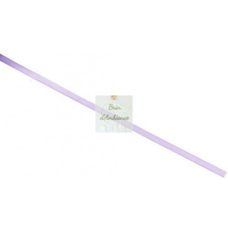 Ruban en satin lilas - 3mm