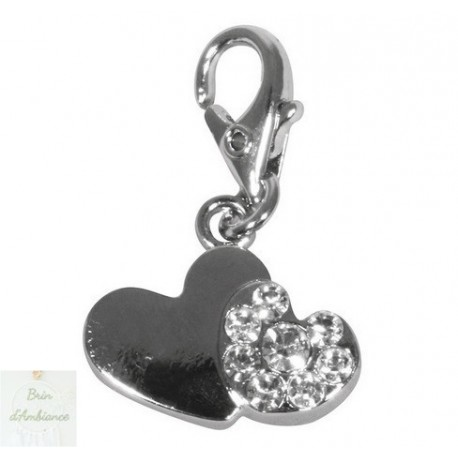 Funny-Charms double coeur