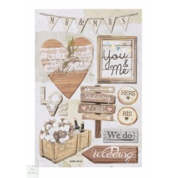 Stickers Mariage Vintage I