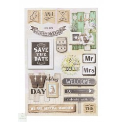 Stickers Mariage Vintage II
