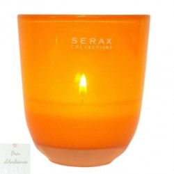 Photophore en verre orange - SERAX