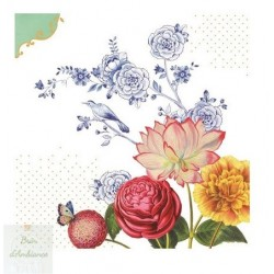 Serviettes en papier Royal Flower PIP STUDIO