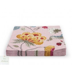 Serviette en papier Fantasy Bloom rose