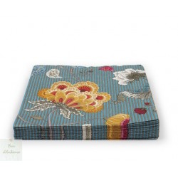 Serviette en papier Fantasy Bloom bleu
