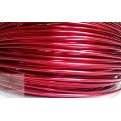 Fil aluminium rouge 2mm