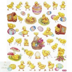 Stickers- Les poussins