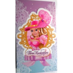 6 Cartons d'invitation Barbie