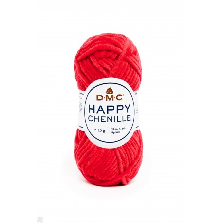 Happy Chenille - Rouge